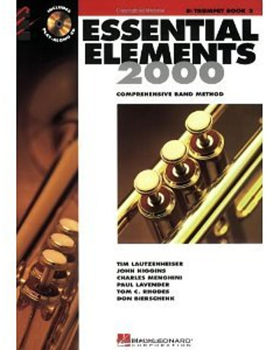 Essential Elements 2000 Trumpet Book 2 and CD