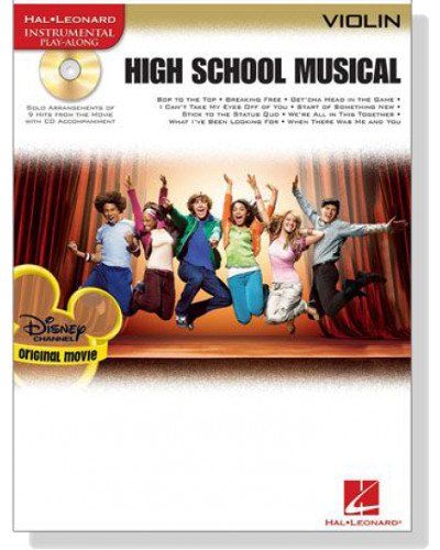 High School Musical for Violin Book and CD