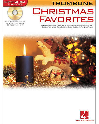 Christmas Favorites Playalong for Trombone Book and CD