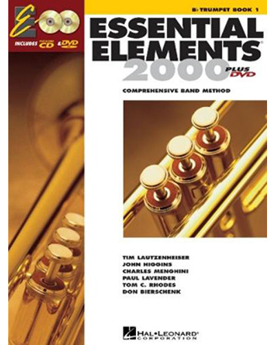 Essential Elements 2000 for Trumpet Book 1 CD/DVD