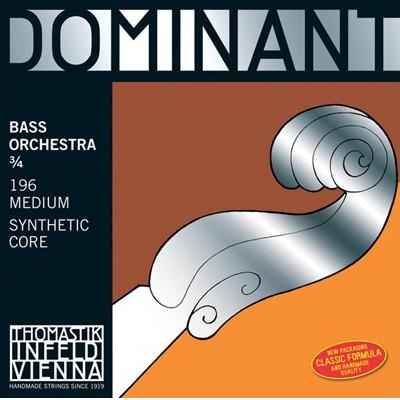 Thomastik Dominant Bass Strings-Orchestral Tuning