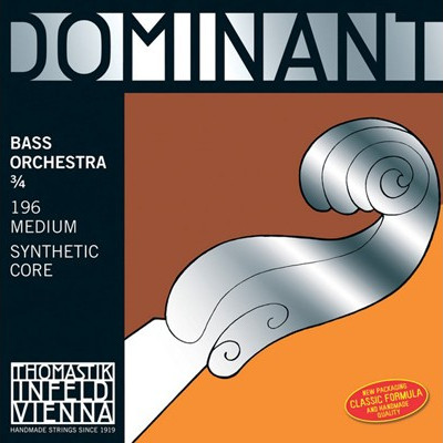 Thomastik Dominant Bass Strings-Solo Tuning