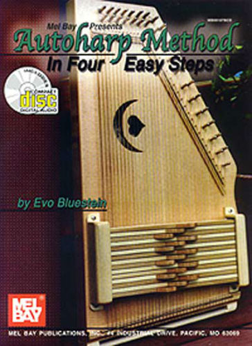 Autoharp Method In Four Easy Steps Book and CD