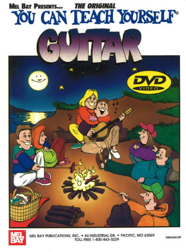 You Can Teach Yourself Guitar Book and DVD