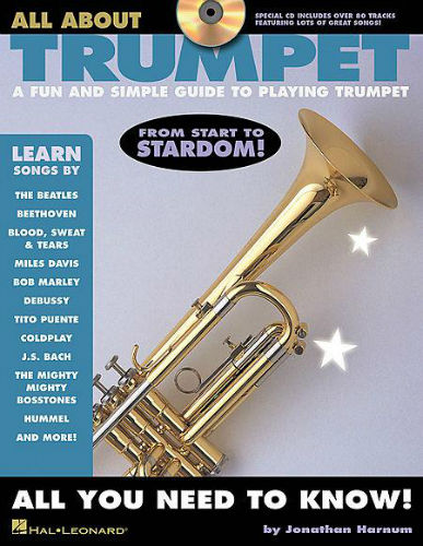 All About Trumpet Sheet Music and CD