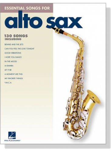 Essential Songs for Alto Sax