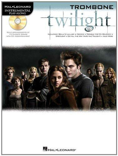 Twilight Instrumental Playalong for Trombone Book and CD