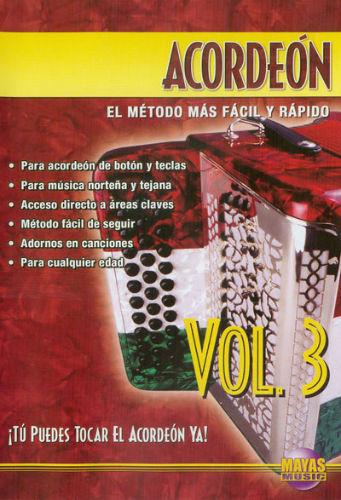 Acordeón Volumen 3 DVD