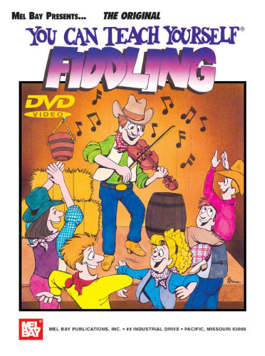 You Can Teach Yourself Fiddling Book and DVD