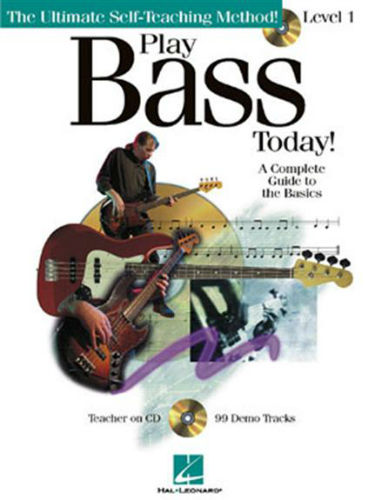 Play Bass Today Book and CD