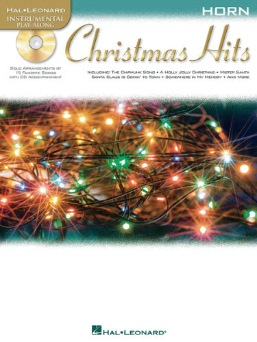 Christmas Hits Instrumental Playalong for French Horn Book and CD