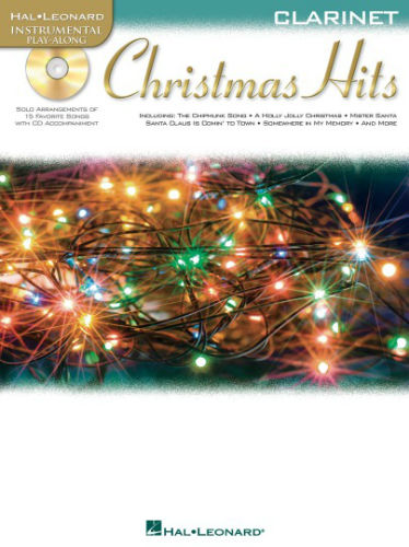 Christmas Hits Instrumental Playalong for Clarinet Book and CD