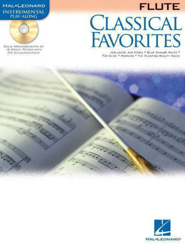 Classical Favorites Book and CD for Flute