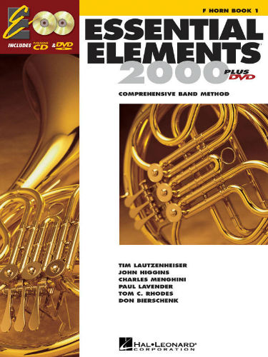 Essential Elements 2000 French Horn Book CD/DVD