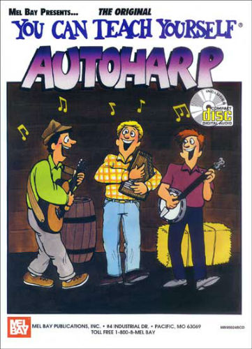 You Can Teach Yourself Autoharp Book and CD