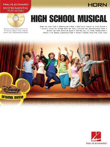 High School Musical French Horn Book and CD