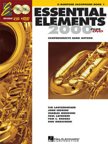 Essential Elements 2000 Bari Saxophone Book CD/DVD
