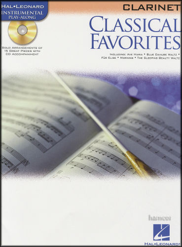 Classical Favorites for Clarinet Book and CD