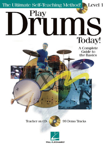 Play Drums Today Book and CD