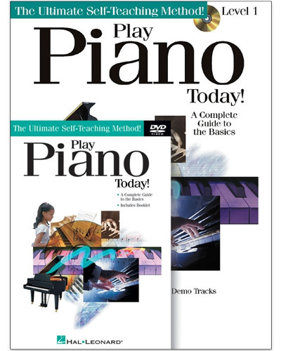 Play Piano Today Book and CD/DVD