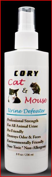 Cory Cat & Mouse Urine Defeator