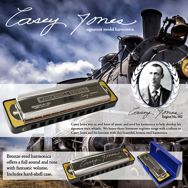 Weltbesten - Casey Jones Signature Model Harmonica