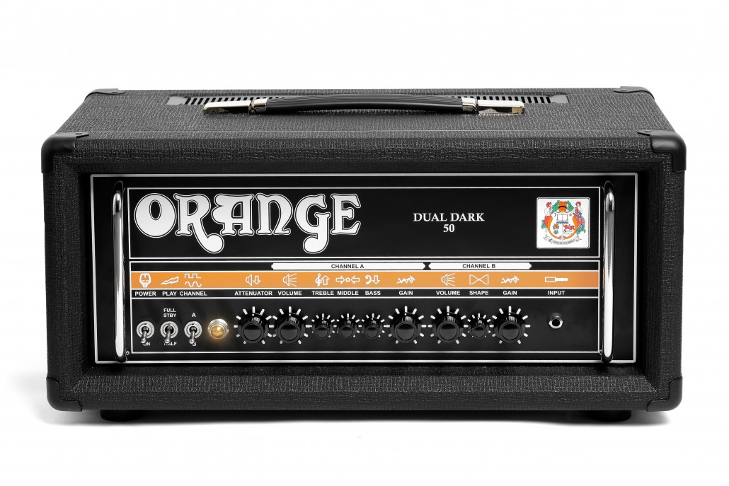 Orange Dual Dark 50W Guitar Amp Head