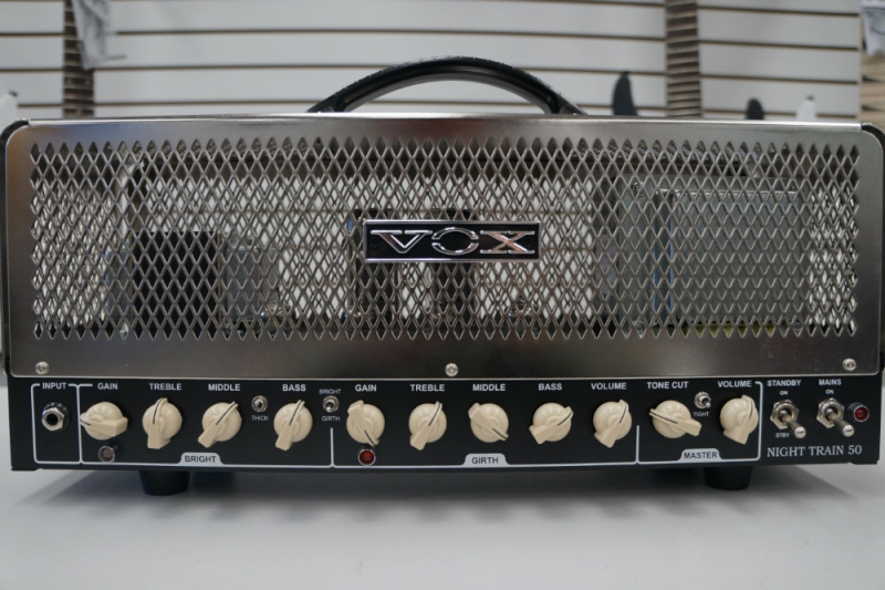 Vox Model NT50H Nighttrain 50 Watt Tube Amp head