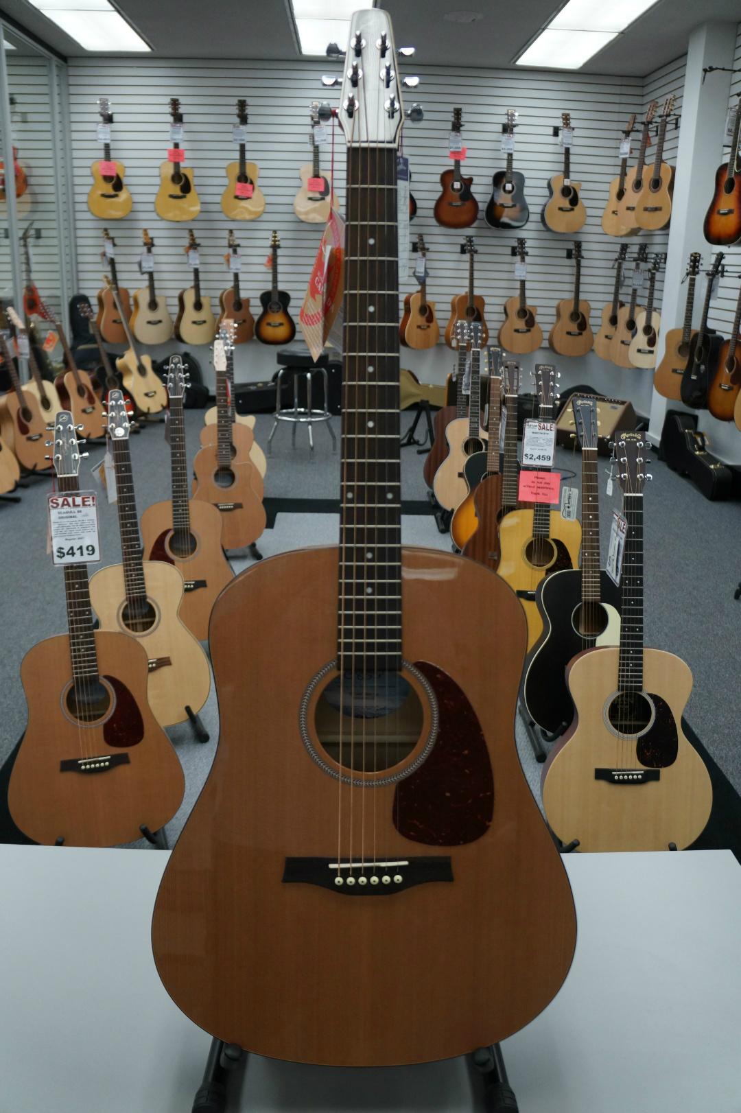 Seagull S6 Cedar Gloss Top Acoustic Guitar