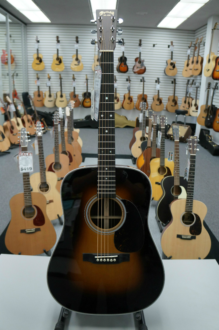 Martin HD-28 1935 Sunburst Acoustic Guitar