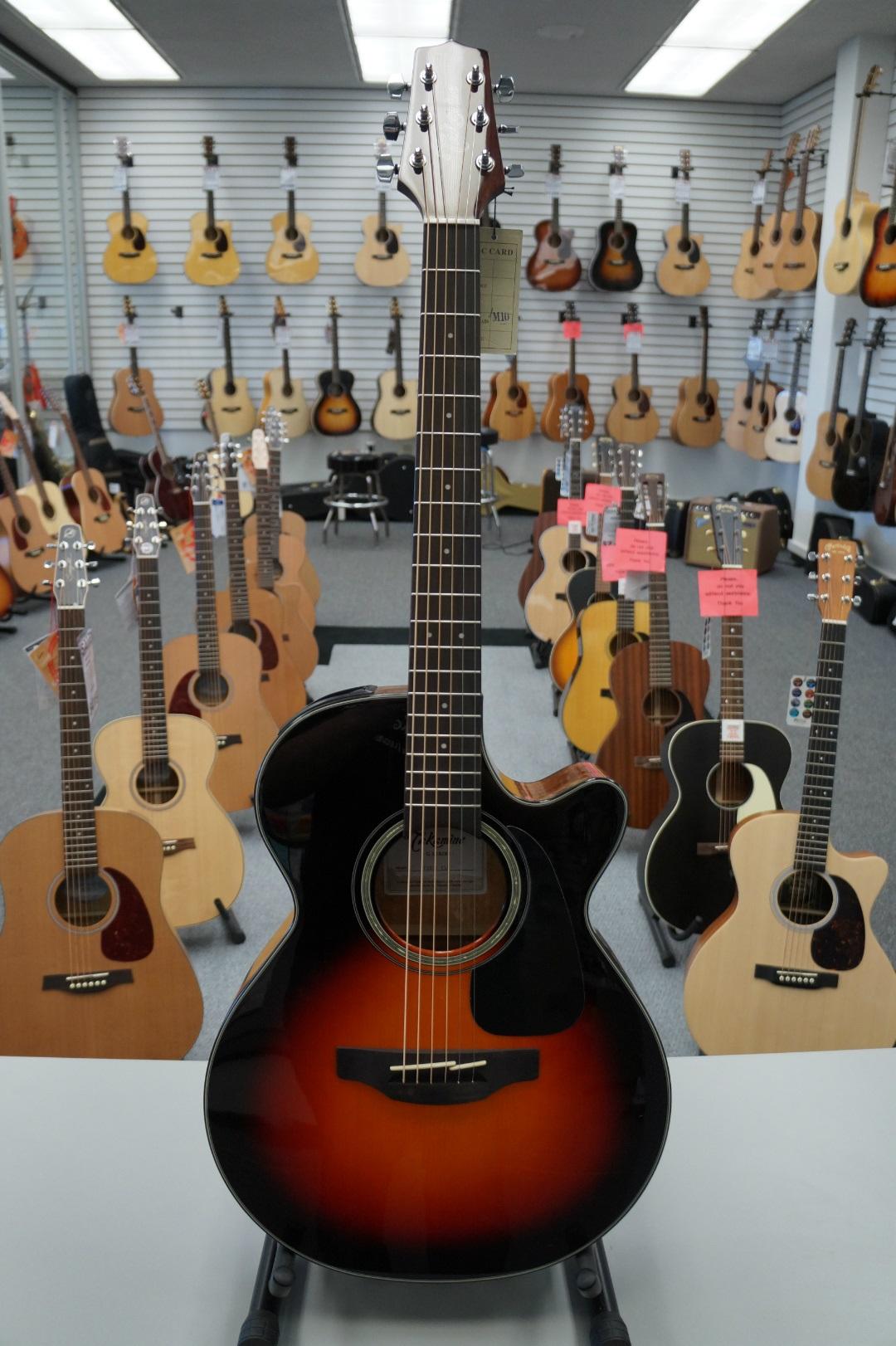Takamine GF30CE-BSB FXC Cutaway Acoustic-Electric Guitar Sunburst