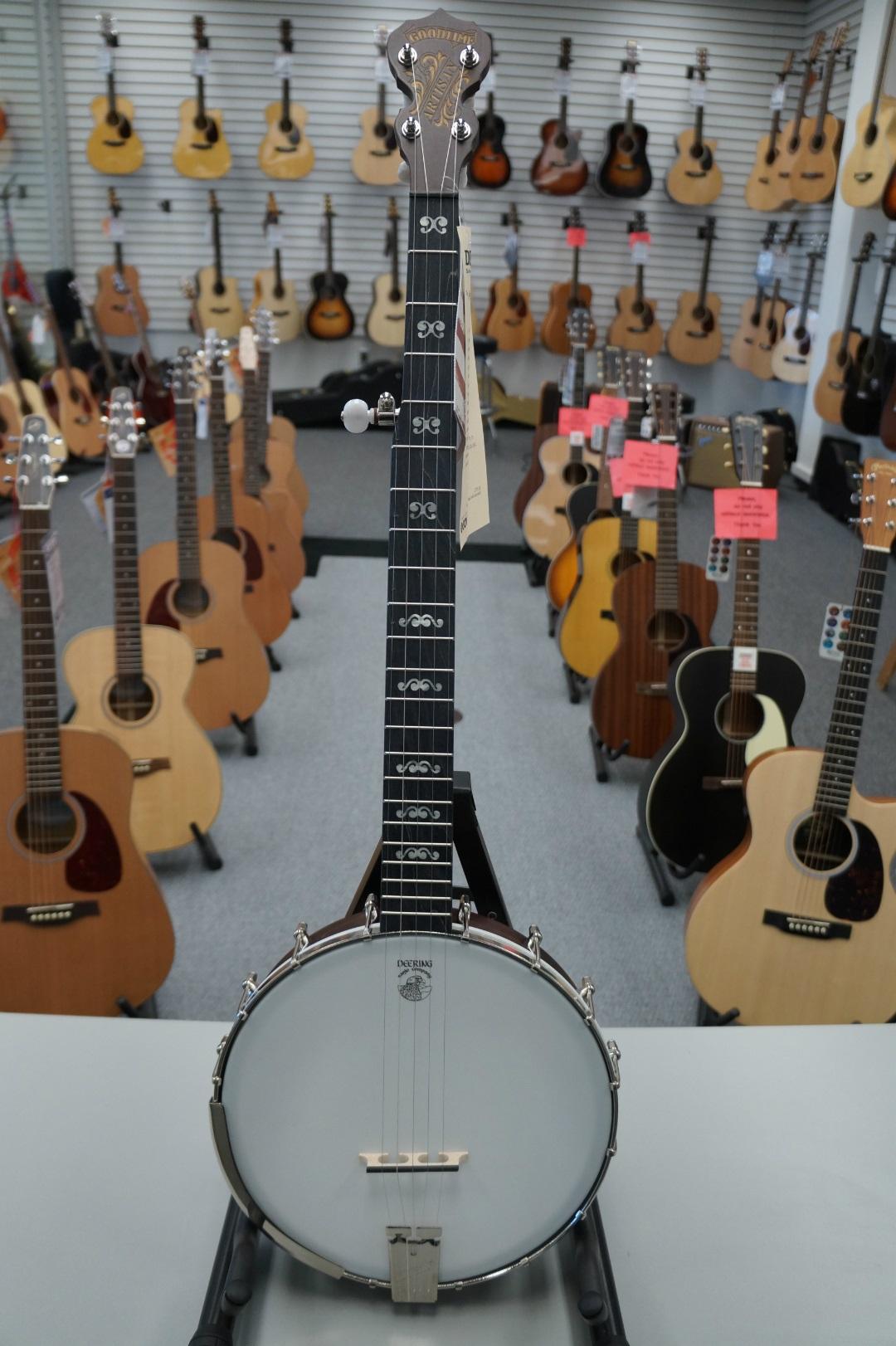 Deering Artisan Goodtime Open back Banjo