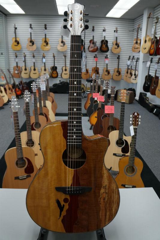 Luna Vista Series Acoustic Guitar - Vista Eagle