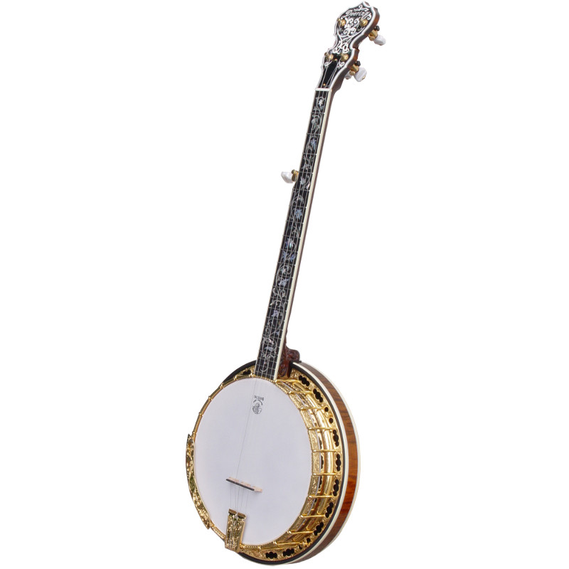 Deering Tree of Life 5-String Banjo w/ Spikes