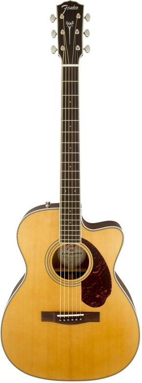 Fender Paramount PM-3 Standard Triple 0 Acoustic-Electric Guitar