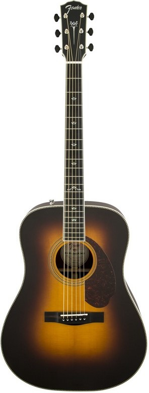 Fender Paramount PM-3 Deluxe Triple 0 Acoustic-Electric Guitar