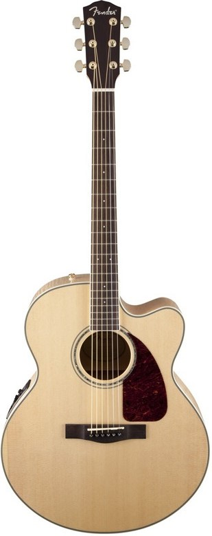 Fender CJ-290SCE Jumbo Maple Acoustic Electric Guitar