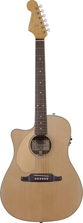 Fender Sonoran SCE Left Handed Acoustic-Electric Guitar