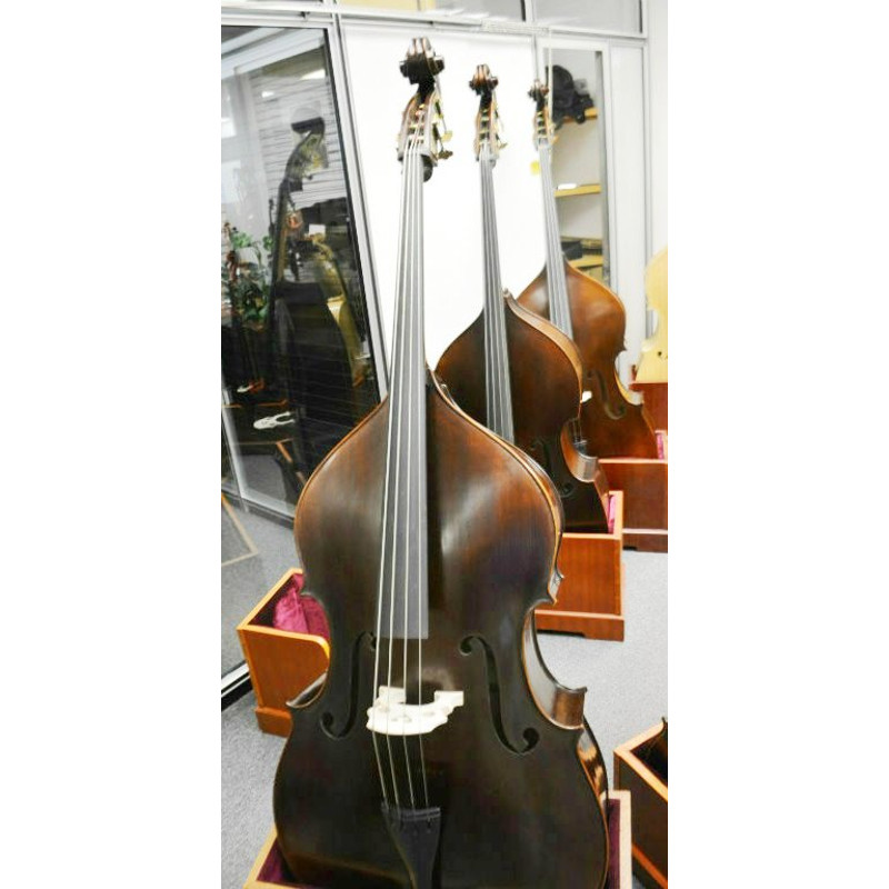 Vienna Strings Munich Upright 3/4 Bass Old German Violin Corners