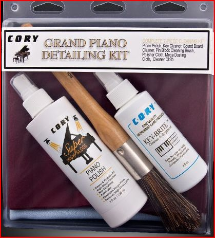 Cory Grand Piano Detailing Kit - High Gloss Pianos