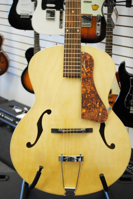 Godin 5th Ave Hollowbody Guitar in Natural Finish