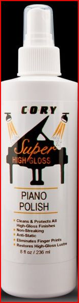 Cory Super High Gloss Piano Polish - For High Polish Finishes
