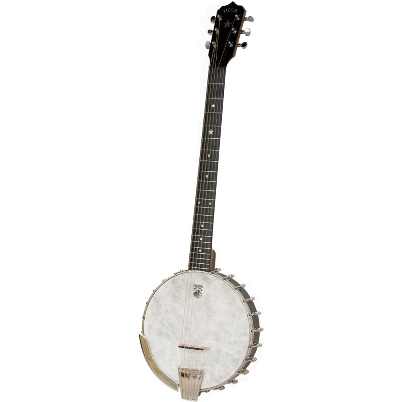 Deering Vega® Senator 6-String Banjo Left-Hand Model - Jim Laabs Music Store