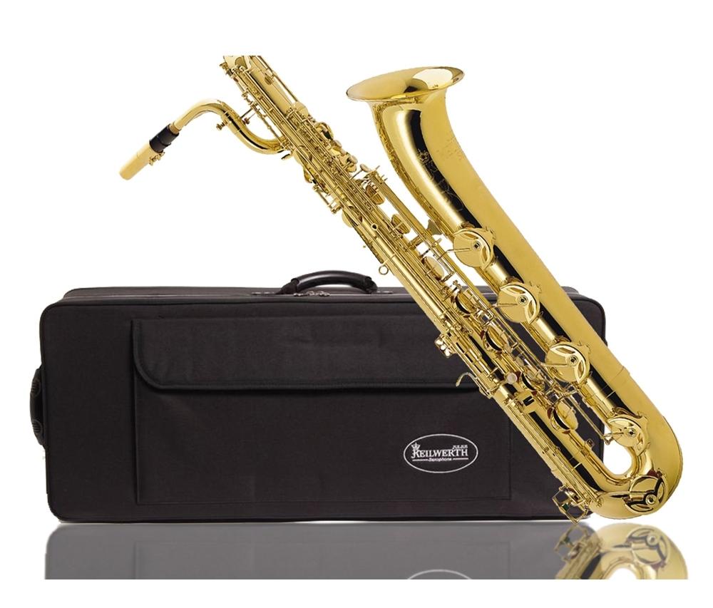 Keilwerth Model JK4310-8 Baritone Sax - Gold Lacquer