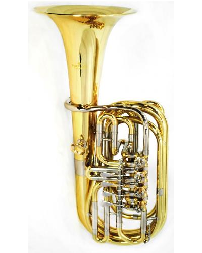 Schiller American Heritage 4-Valve Mini F Tuba