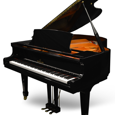Schiller Performance Serenity Grand Piano - Ebony Polish