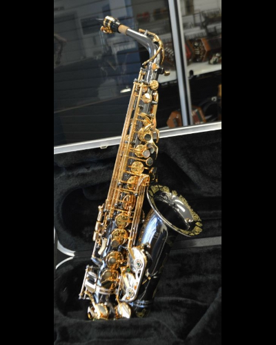 Schiller Professional La Premiere Saxophone Black Nickel/Gold