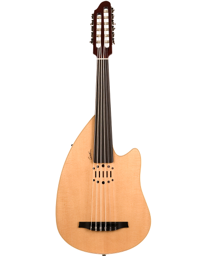 Godin MultiOud Ambiance Nylon Natural Finish Acoustic Electric with Custom EQ