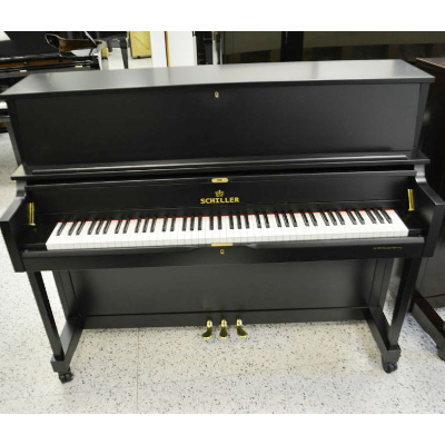 Schiller Performance Frankfurt Upright Piano – Ebony Satin