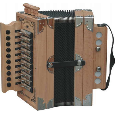 Weltmeister Deutsche Button Accordion Natural